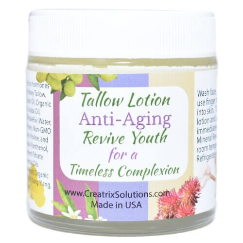 Tallow Lotion Anti-Aging by Creatrix Solutions