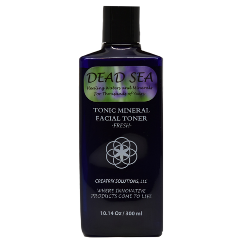 Dead Sea Mineral Facial Toner - Fresh - Front of the Bottle