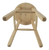 sauna stool bottom view