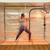 Spacious exercise area in the Hot Yoga and Exercise tent.