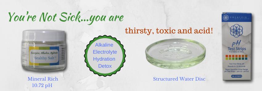Alkaline Electrolyte Hydration Detox