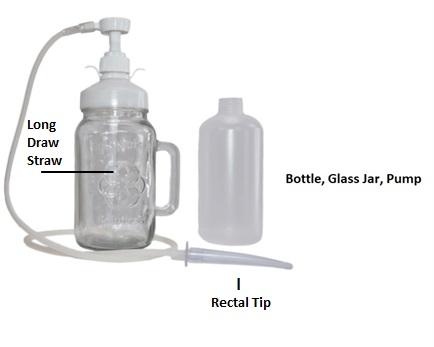 Bottle, Jar, and Pump