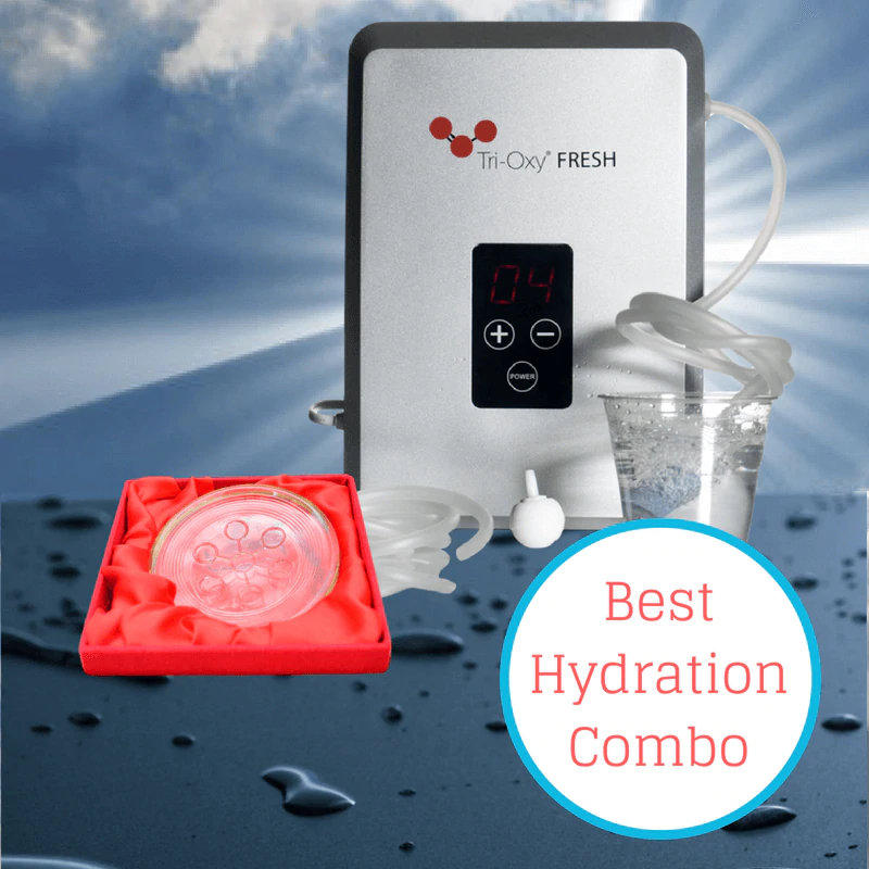 Best hydration combo using ozonated and structured water
