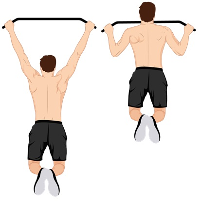 Illustrative Example of the Pull-Ups Exercise