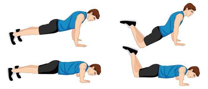 Illustrative Example of the Push-Up Exercise