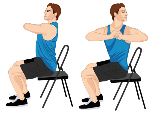 Illustrative Example of the Spinal Twist Exercise