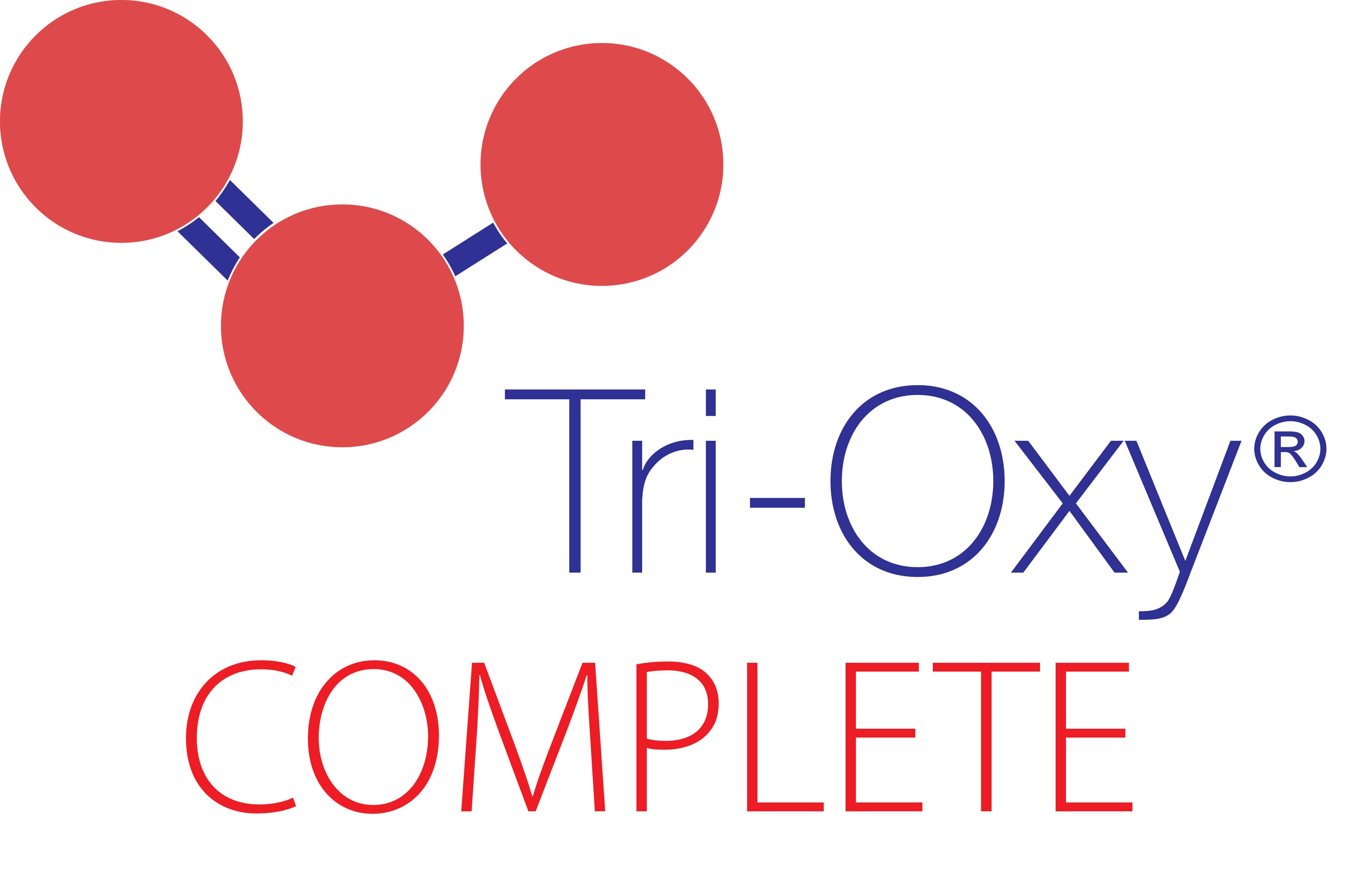 Tri-Oxy Complete Registered Logo