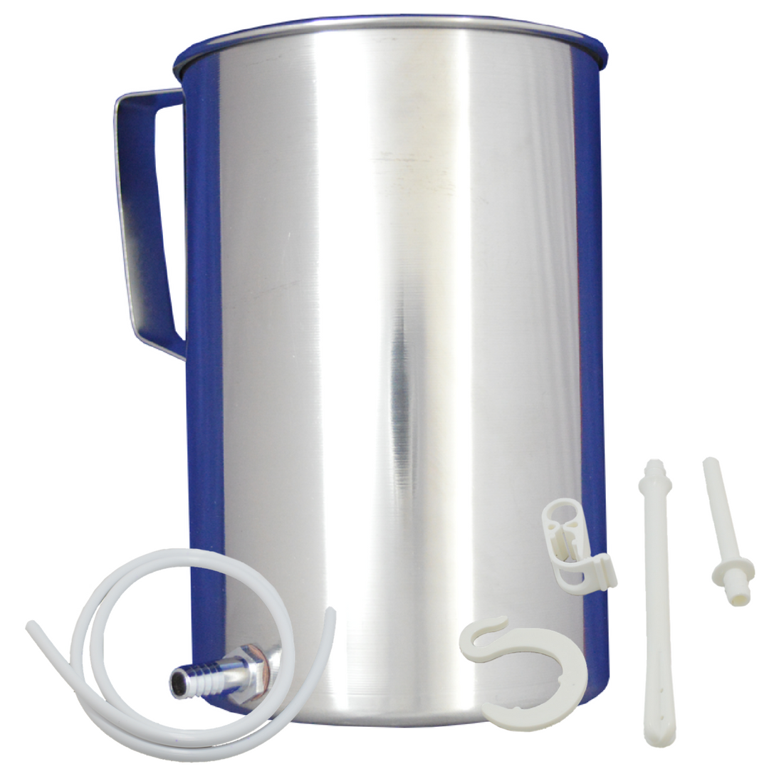 Stainless Steel Enema Bucket Kit 2 Liter