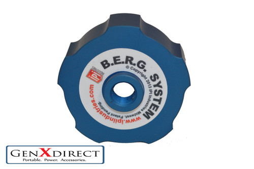IPI BERGS 1 Cap (replacement blue cap works with Yamaha, PowerHorse, Westinghouse) Part # 1003-1