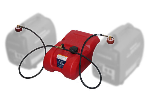 IPI BERGS 2 Extended Run Fuel System for dual generators (with tank) Part # RYB1.2200D