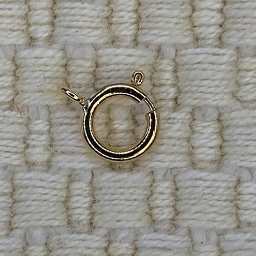 6mm 14k Gold Filled Spring Rings