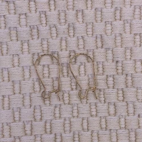 14K Gold Filled Kidney Wire