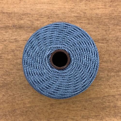 S-lon bead cord ice blue
