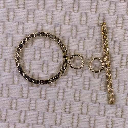 14K Gold Filled 19.5mm Toggle Clasp