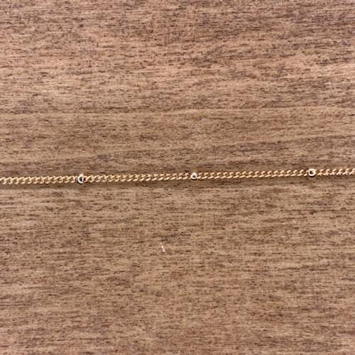 14k Gold Filled Fine Satellite Chain