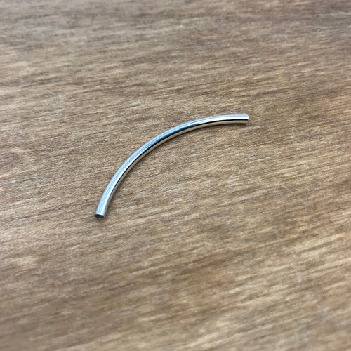 SS 2X40MM CURVED TUBE