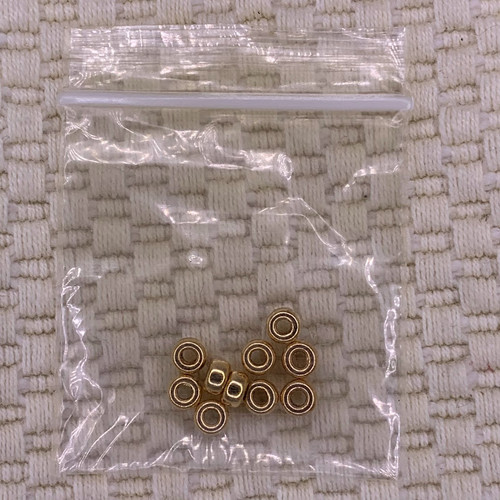 4mm 14k gold filled rondelle beads