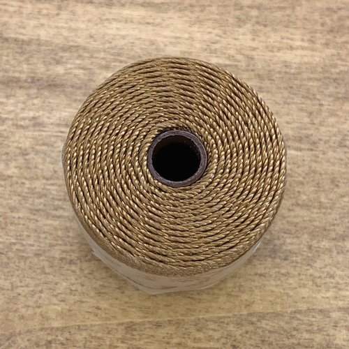 S-lon bead cord chocolate