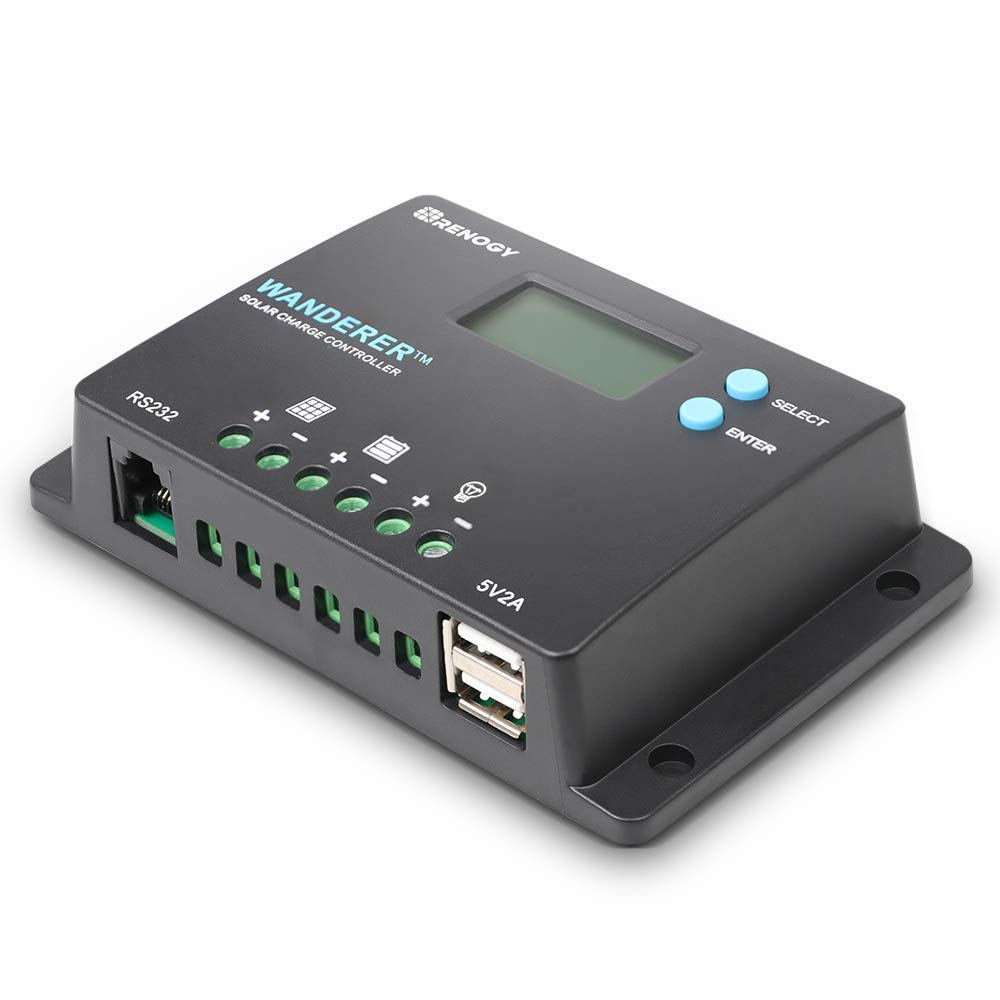 Wanderer 10A PWM Charge Controller