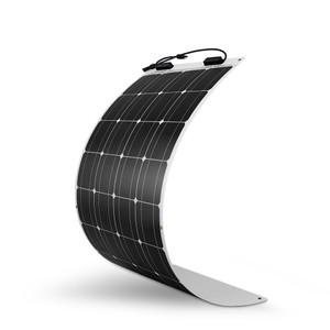 100 Watt 12 Volt Flexibel Monokristallin Solarmodul
