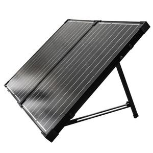Solarkoffer monokristallin 100W 12V ohne Laderegler