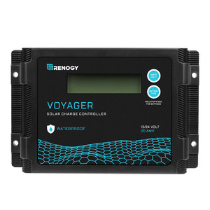 PWM Laderegler 12/24V 20A wasserdicht Voyager(neue Version)