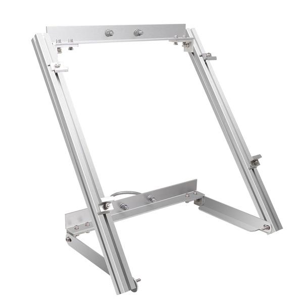 Renogy Mast-Montageset für 100W Solarmodul Halterung Solarpanel, Aluminium