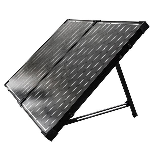 Renogy 100 Watt 12 Volt Solarkoffer monokristallin ohne Laderegler