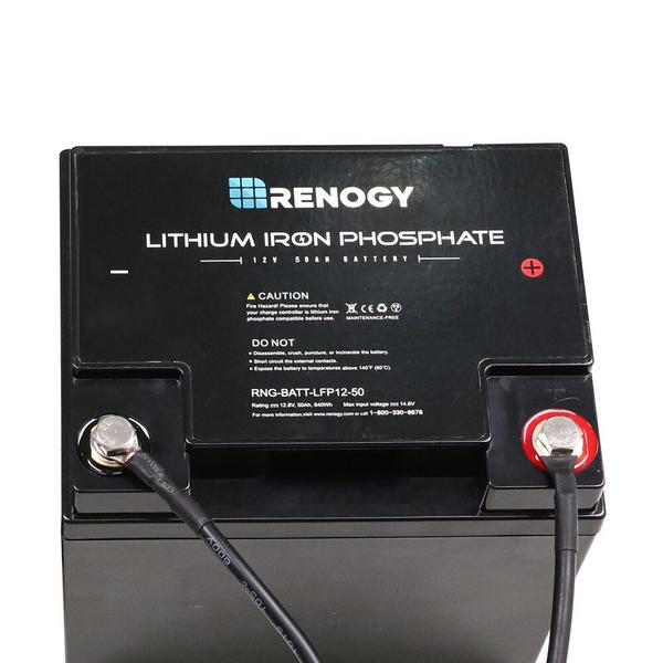 Batteriekabel für den Anschluss von Laderegler zu Batterie