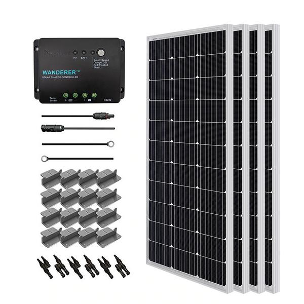 400W 12V Solaranlage PWM Laderegler für Wohnmobile/Wohnwagen
