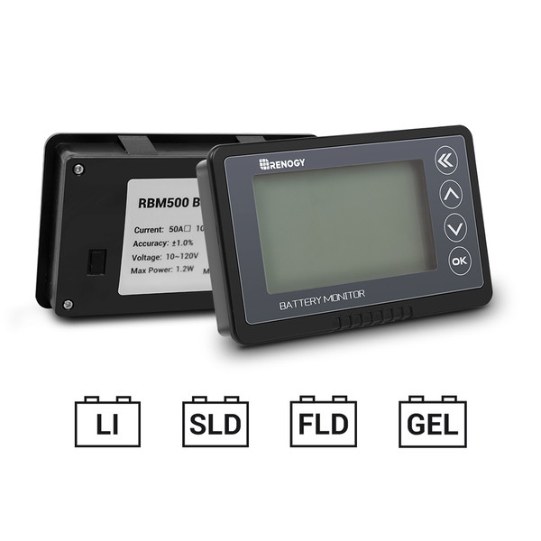 Batterie Monitor  500A  (Neue Version)