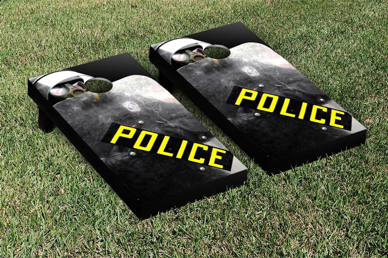 Police Corn hole Bags