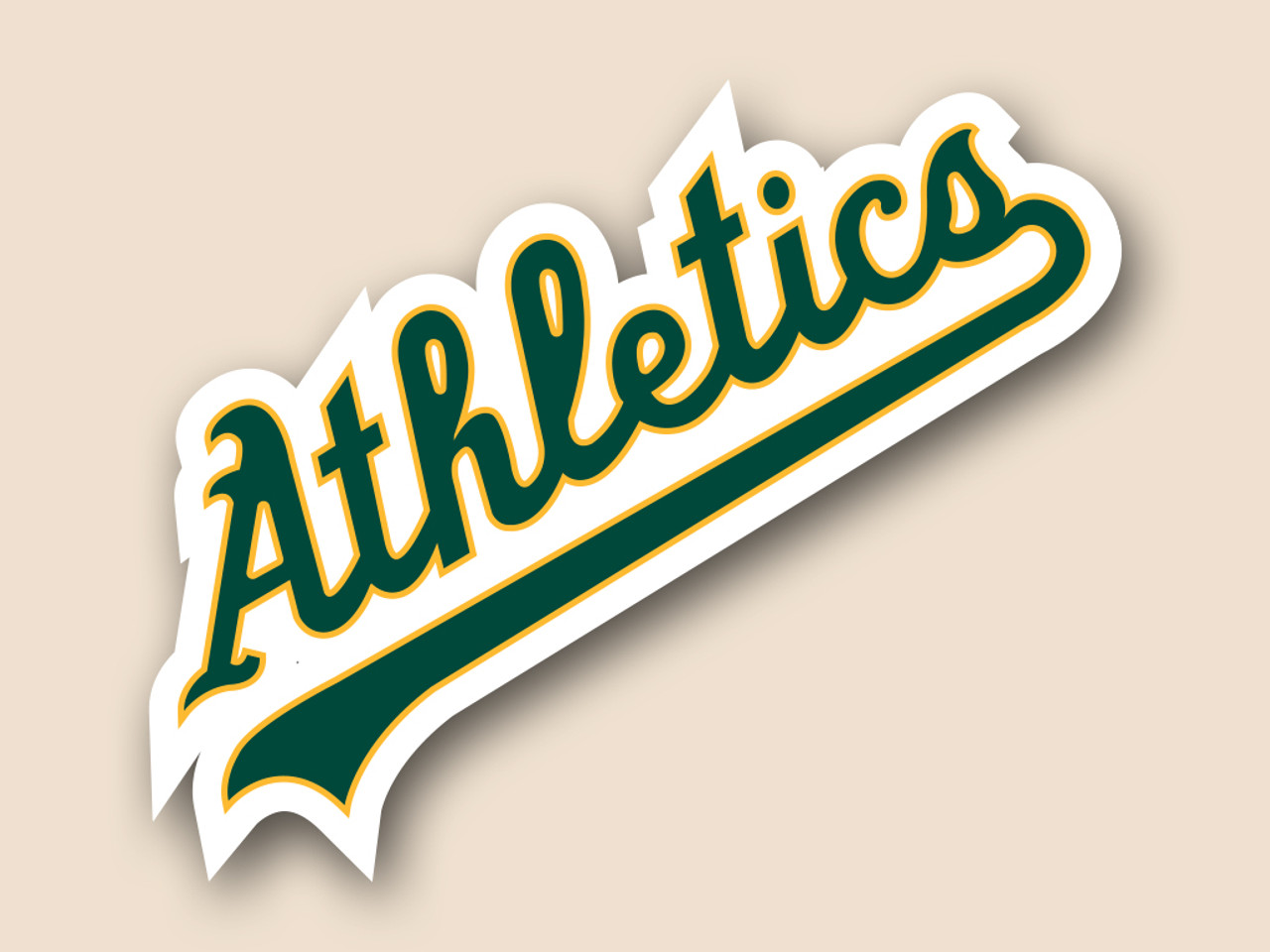 Free shipping Made in USA #1 Oakland Athletics corn hole set of 2 decals