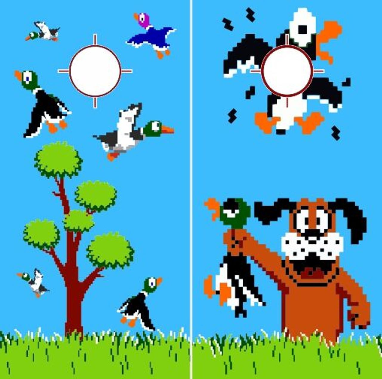 Duck Hunt Cornhole
