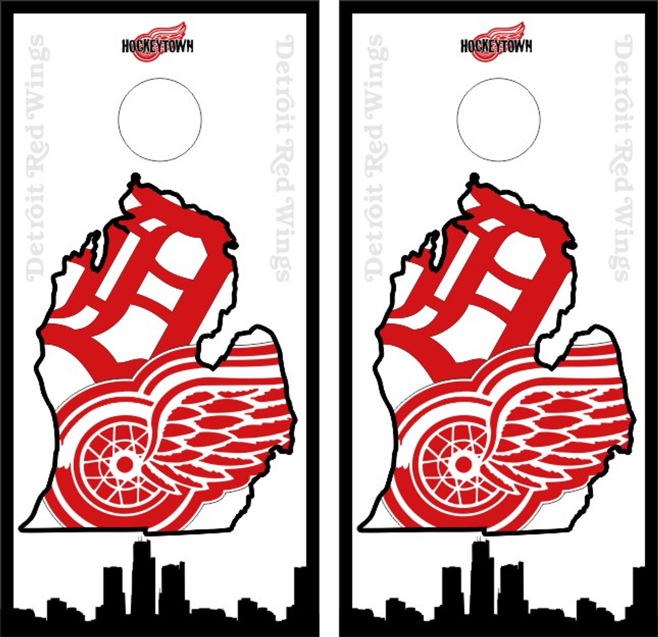 Why did white nationalists use the Detroit Red Wings logo?