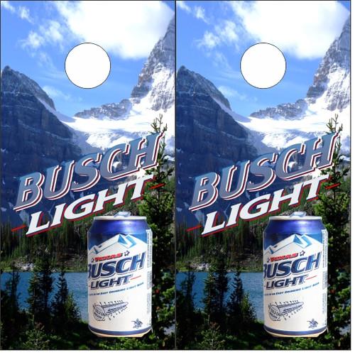 Busch Light Cornhole Wraps - Custom Cornhole, LLC