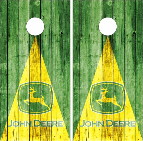 Outstanding John Deere Cornhole Decals Custom Cornhole Llc Spiritservingveterans Wood Chair Design Ideas Spiritservingveteransorg