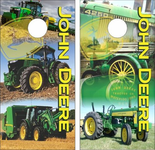 Excellent John Deere Cornhole Decals Custom Cornhole Llc Spiritservingveterans Wood Chair Design Ideas Spiritservingveteransorg