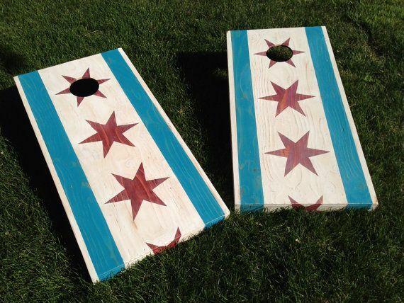 City Flag Cornhole Sets