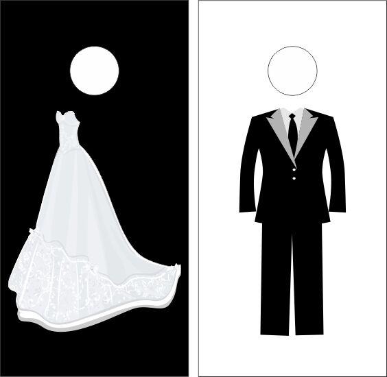 Classic Wedding Cornhole Sets