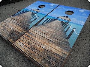 Beach Cornhole Sets