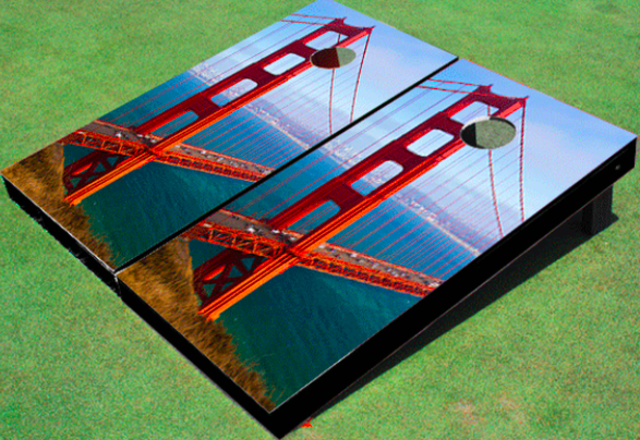 Cities & Landmarks Cornhole Sets