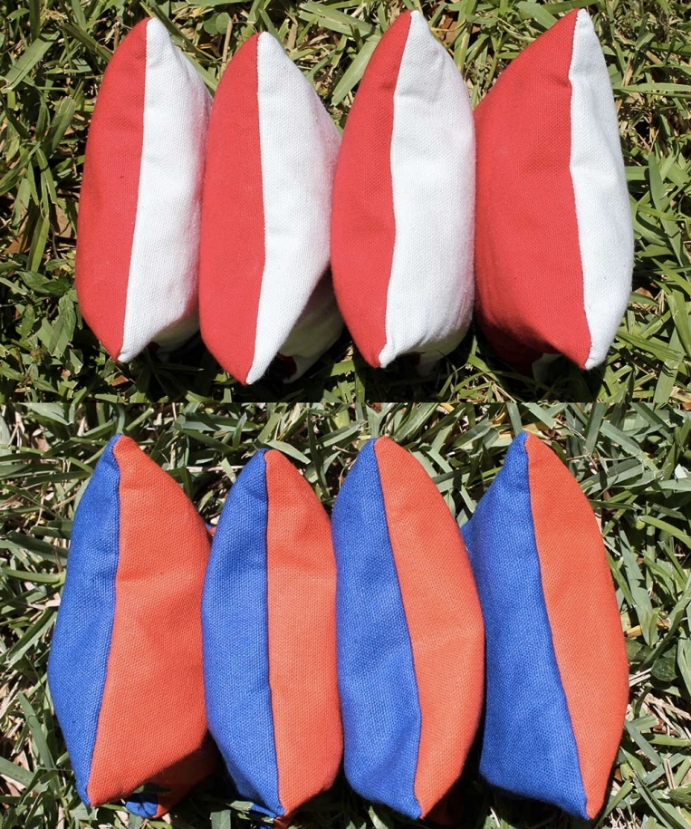 Dual-Colored Cornhole Bags
