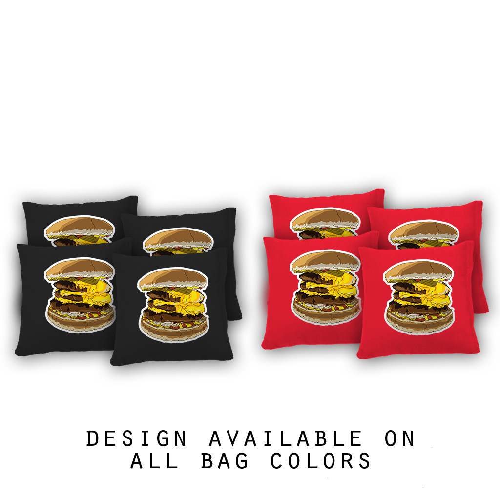 Food Themed Cornhole Bags