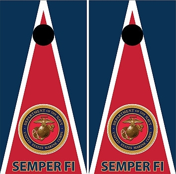 Military Cornhole Wraps