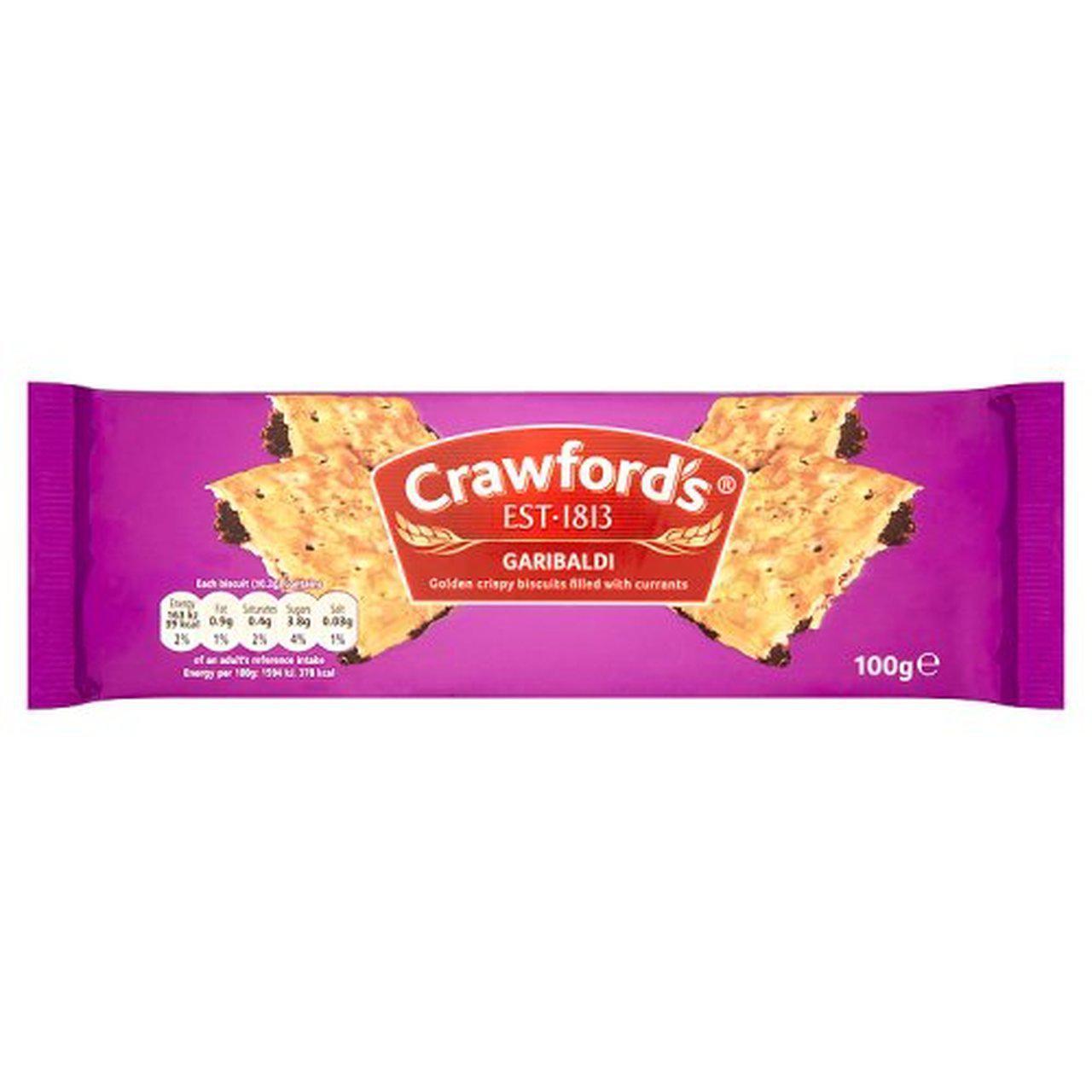 Crawford's Garibaldi, 100g