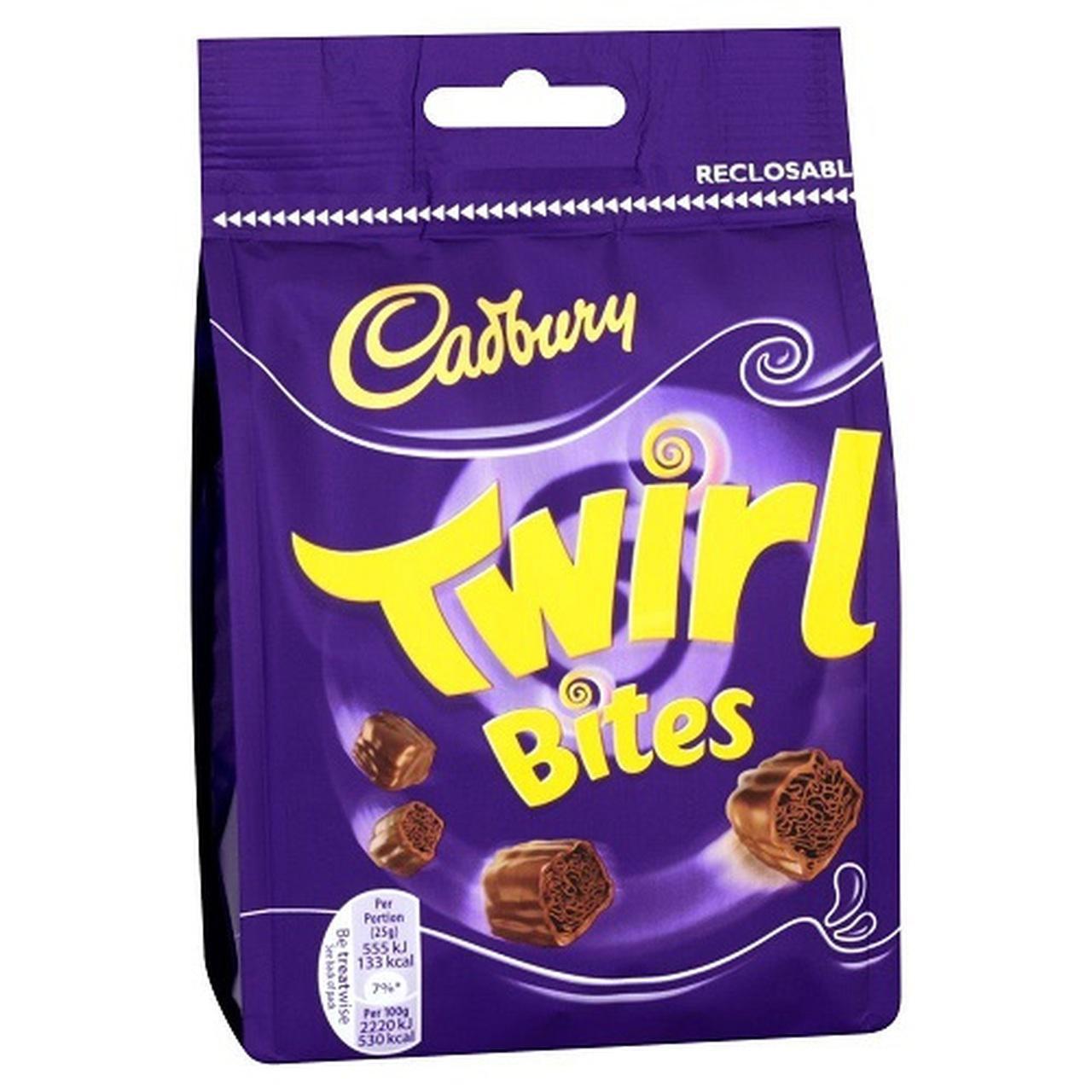 Cadbury - Twirl Bites, 109g