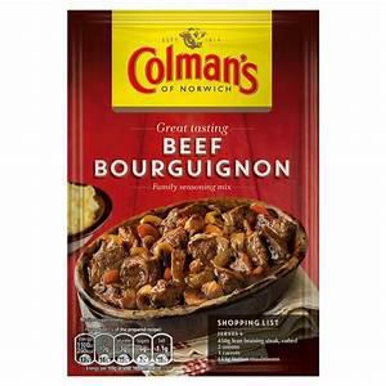Colman's Beef Bourguignon Mix, 40g
