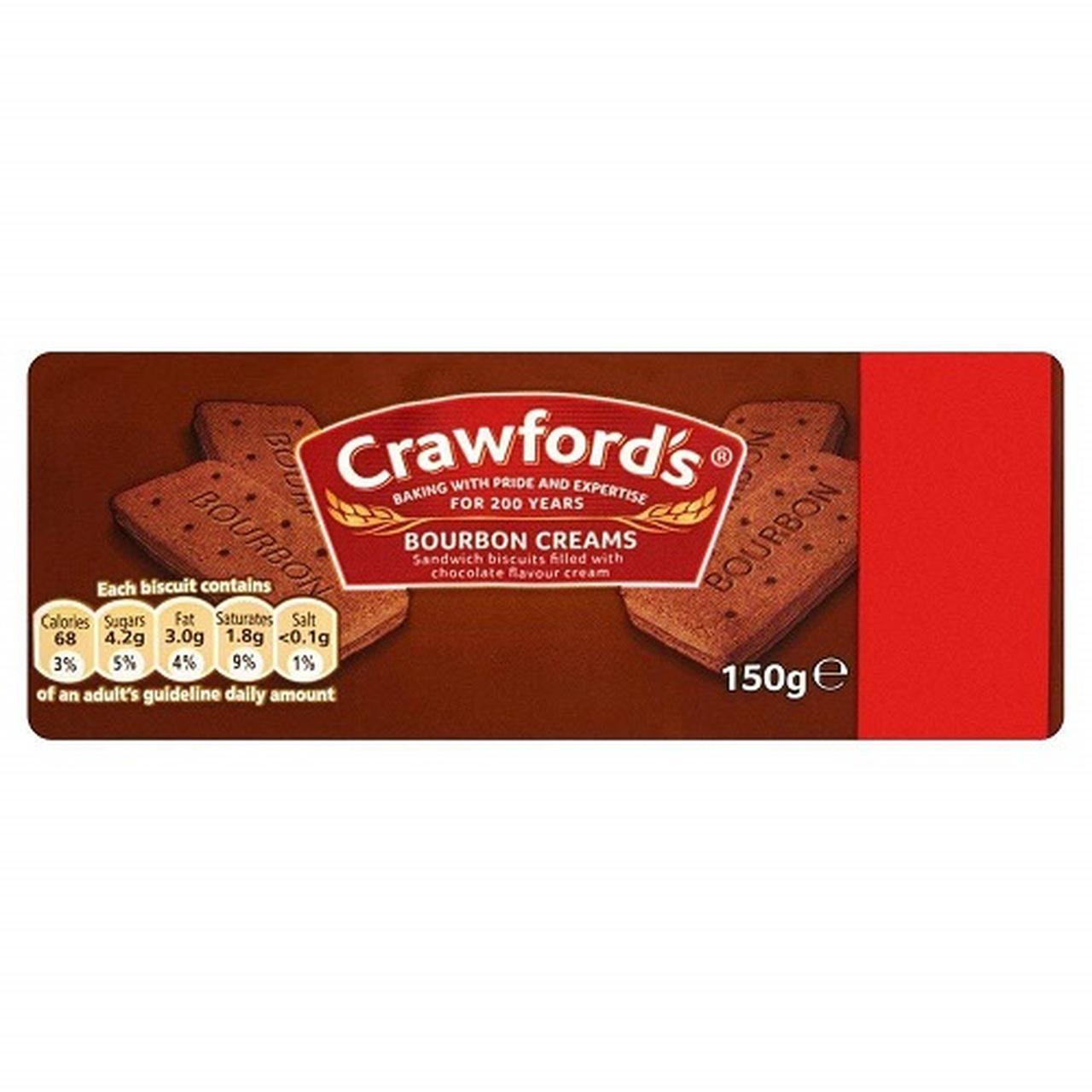 Crawford's Bourbon Creams, 150g
