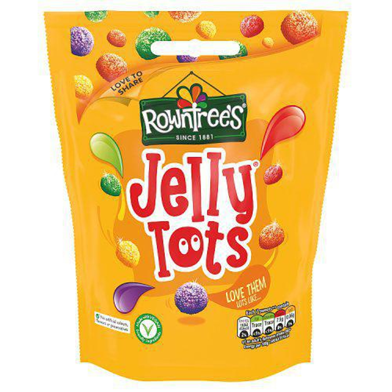 Rowntrees - Jelly Tots, 150g